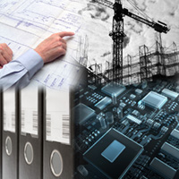 Technical documentation for plant construction projects